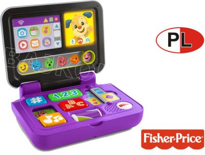 FISHER PRICE NOWY LAPTOP MALUCHA PL FXK36