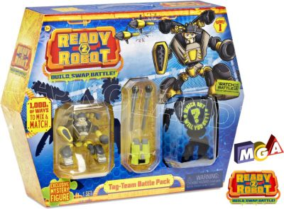 READY2ROBOT SLIME BATTLE PACK 553878 ASORT 553885