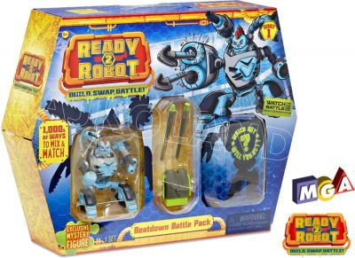 READY2ROBOT SLIME BATTLE PACK 553878 ASORT 553915