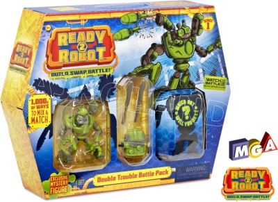 READY2ROBOT SLIME BATTLE PACK 553878 ASORT 553908
